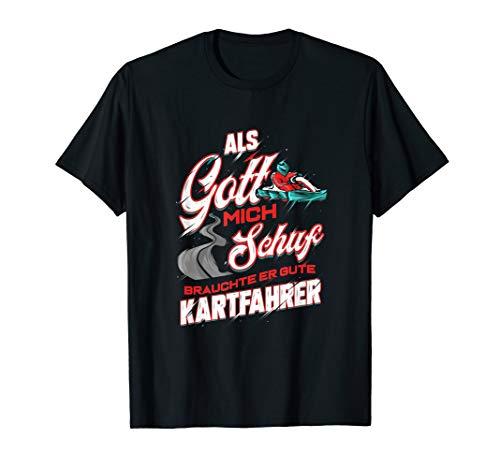 Go-Kart Kartbahn Kart Fahren Rennkart Racer T-Shirt