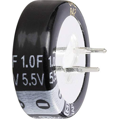 Thomsen 473120 Gold-Cap Kondensator 1 F 5.5 V 30% (Ø x H) 21.5 mm x 10 mm 1 St.