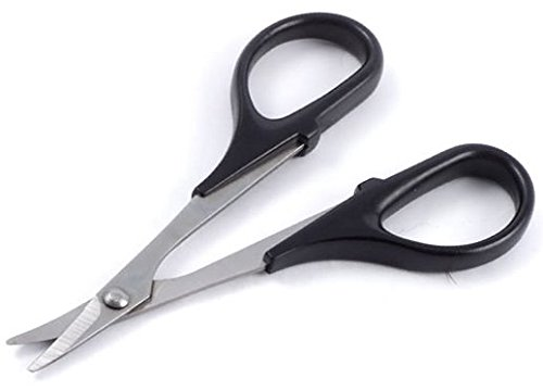 Fastrax Straight or Curved Lexan Scissors Great for Cutting Polycarbonate Bodies[Curve]