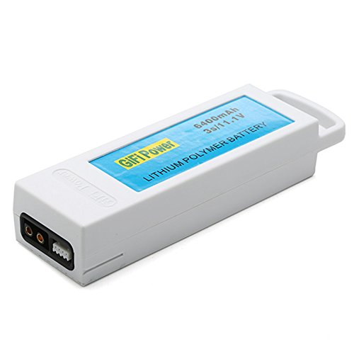 11.1V 6400mAh 3S Upgarded lipo Lithium RC Battery Rechargeable Battery for Yuneec Q500 Q500 RC Quadcopter