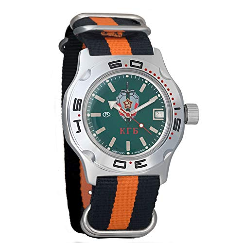 Vostok Amphibian Scuba Dude - Reloj de Pulsera automático para Hombre (Cuerda automática, Reloj de Pulsera Militar de Buceo Amphibia Ministerio # 100945)