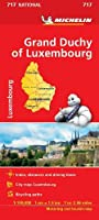 Grand Duchy of Luxembourg - Michelin National Map 717: Map (Michelin National Maps)