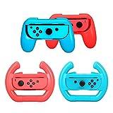 Joy-con Grip & Volante para Nintendo Switch, Joy con Grip Gamepad +...