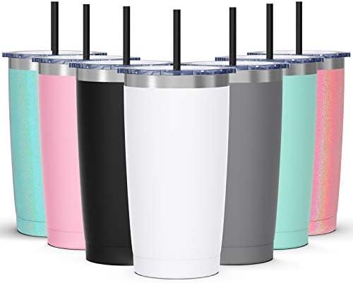 20oz Tumbler with Splash Proof Sliding Lid Bastwe Stainless Steel Vacuum Insulated Travel Mug product image