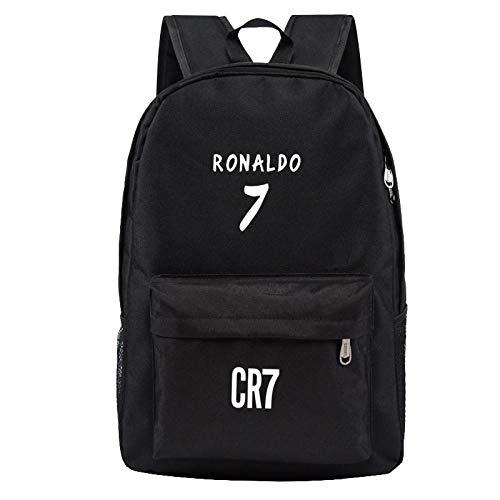 Schultasche Jugendlich Männer Rucksack Jungen Schultaschen Für Jugendliche Rucksack Cristiano Ronaldo Rucksäcke Mode Bookbags Für Kinder Reisen1