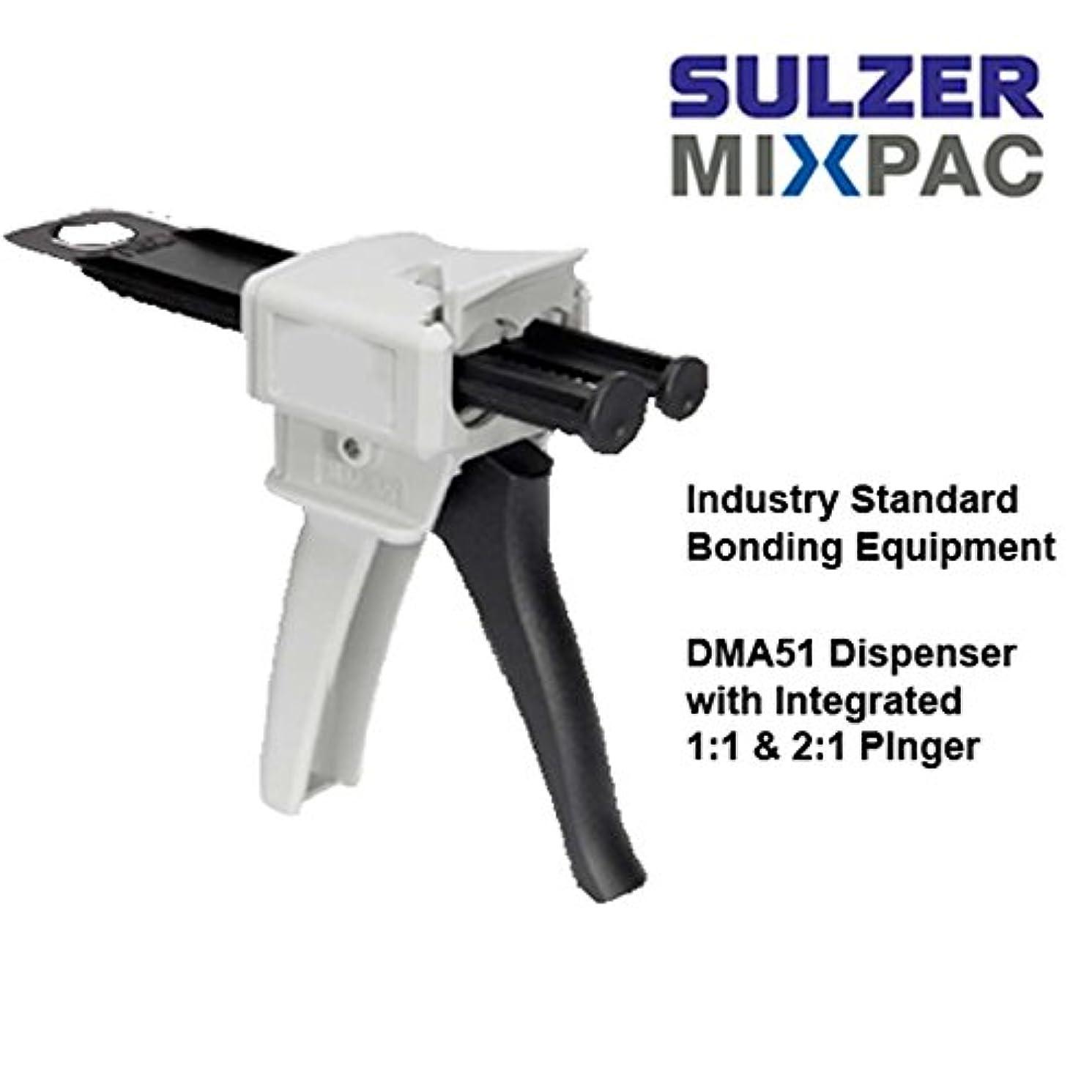 MixPac DMA51 Dispenser Kit for 50ml/1.7oz Epoxy & Adhesives (1:1 & 2:1 Ratios)