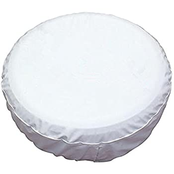 HEALiNK Spare Tire Covers 16 inch PVC Leather White Wheel Tire Cover Rim Protector for RV Jeep Toyota RAV4 Honda CRV All Cars  16  for Diameter 29 -31