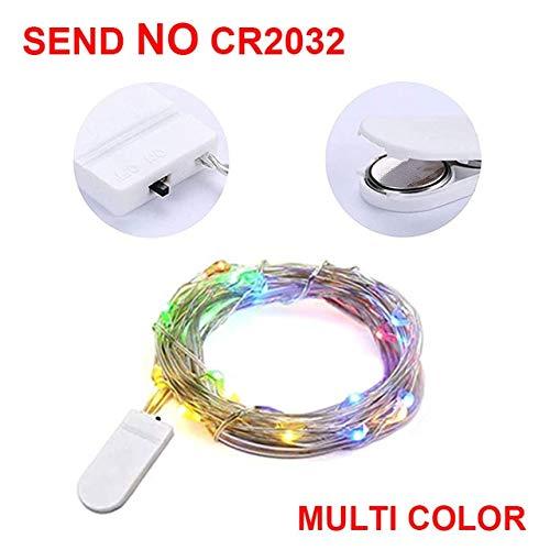 Luz de Navidad 5/10 m Control Remoto a Prueba de Agua Luces de Hadas Decoración operada por USB Temporizador de 8 Modos Cadena de LED Guirnalda de Alambre de Cobre