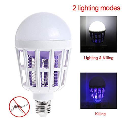 Elektronische Insectenverdelger/Muggenlamp Lampen Vliegenmoordenaar E27 Led-lampvoet Basis Binnen Binnen Buiten Tuin Patio Achtertuin UV