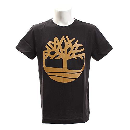 Timberland Short Sleeve Seasonal Logo Tee Black Tree MD