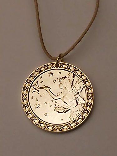Zahnfee Münze Himmel - Gold beschichtet