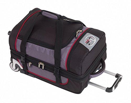 CheckIn Outbag Sports borsone di viaggio a 2 ruote S 54 cm schwarz/rot