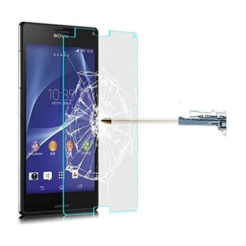 Kobert - Goods gehard glas film beschermend glas screen protector film van gehard glas 0,3 mm dun voor iPhone, Samsung, HTC, Kindle en vele andere mobiele telefoons en tablets, Sony Z2 mini