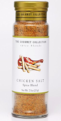 The Gourmet Collection Seasoning Blends Chicken Salt Spice Blend - Poultry Seasoning - Enhances Fried and Rotisserie Chicken and Cornish Hens.
