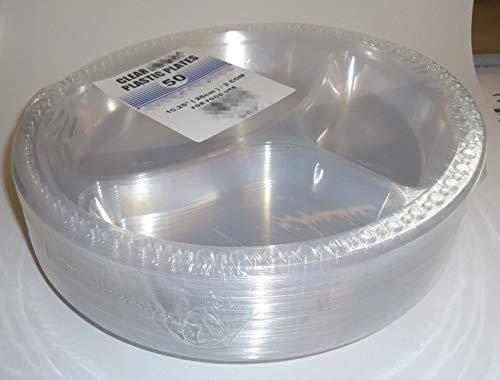 Tezraftaar® transparante kunststof wegwerp platen 10