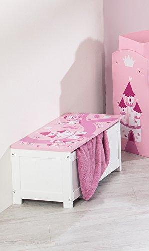 roba 450518D332 Spielzeugtruhe Krone, rosa - 2