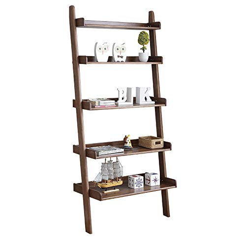 SuDeLLong ladderstandaard met 5 lagen, boekenkast, antiek, boekenkast, ladder