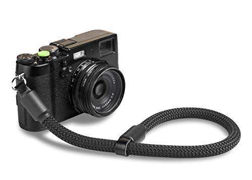ROPSTER Kamera Handschlaufe aus stylischem Bergsteiger Seil – Universal DSLR SLR Trageschlaufe für Nikon, Canon, Sony, Olympus, Fuji UVM. – Vintage Handgelenk Kameraband – Camera Wrist Strap