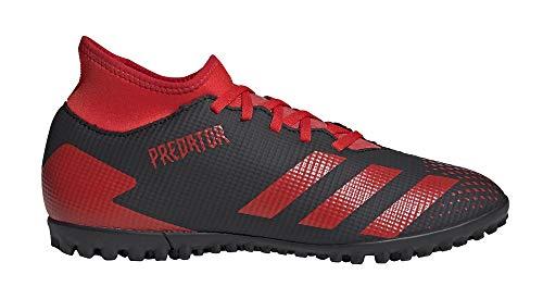 adidas Predator 20.4 S IIC TF - Botas de fútbol para hombre, color negro, color Negro, talla 43 1/3 EU