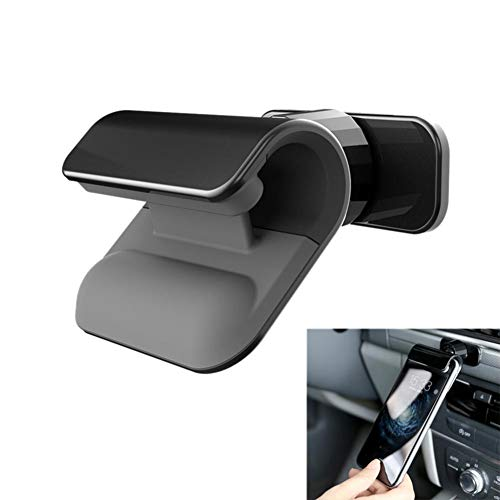 USNASLM Soporte universal para teléfono de coche con gravedad para navegación de coche, soporte multifunción para teléfono de 7 pulgadas y 360 grados, tipo de pasta