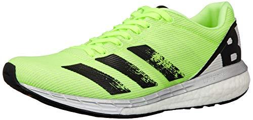 adidas Herren Adizero Boston 8 M Laufschuhe, Signal Green/CORE Black/Grey ONE F17, 43 1/3 EU