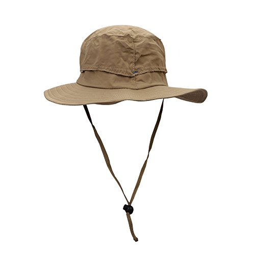 ITODA Outdoor Fisherman Hat Breathable Sun Protection Hat Topee with Wide Brim UV Helmet Quick -drying Cap Bucket Hat with Neck Line Sunbonnet for Hiking Fishing Traveling Camping