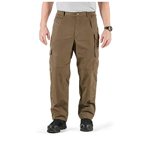 5.11 Tactical Men's Taclite Pro Work Pants, Lightweight Poly-Cotton Ripstop Fabric, Tundra, 46, Style 74273L
