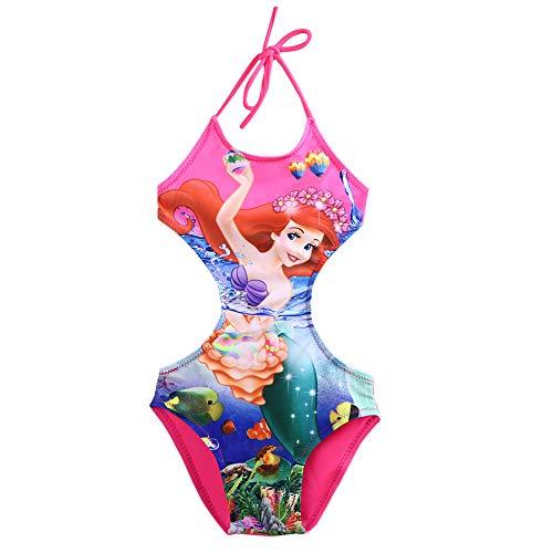 Ropa Bebe NiñA Verano Mermaid Siamese Swimsuit Girls
