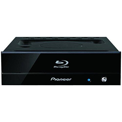 Pioneer パイオニア BD-R 16倍速書込み 特殊塗装ブラック筐体 ハードコートパネル ハニカム構造 BDXL対応 BD/DVD/CDライター ピアノブラック BDR-S09J-X
