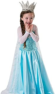 Inspired Snow Queen Girl Costume Dress