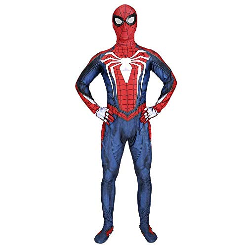 YQFZ Spiderman Fancy jurk kostuum kostuum kostuum Prop PS4 spel Spider-Man Bodysuit Jumpsuits Kleding Movie Party Hero Battle pak