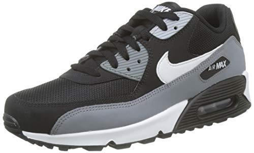 Nike Herren Men's Air Max '90 Essential Shoe Gymnastikschuhe, Schwarz (Black/White/Cool Grey/Anthracite 018), 44.5 EU