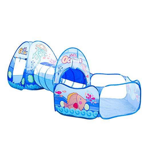 SZQ-Tiendas de Juegos Carpa de usos múltiples de la Familia, de la Infancia Surge la Tienda Carpa extendido bebé Casa Carpa de Arrastre Juego / 300 * 120 * 90cm / 0 Año + Niño Tiendas de campaña