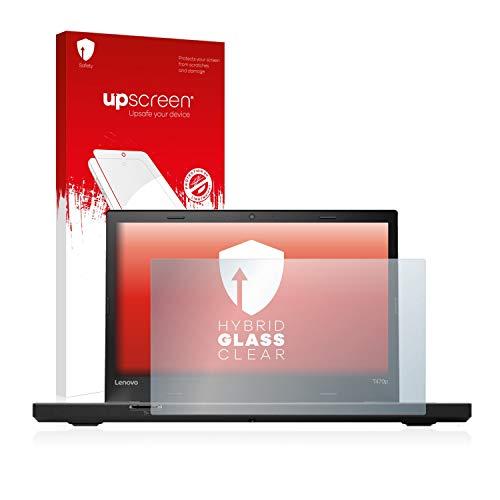 upscreen Hybrid Glass Panzerglas Schutzfolie kompatibel mit Lenovo ThinkPad T470p 9H Panzerglas-Folie