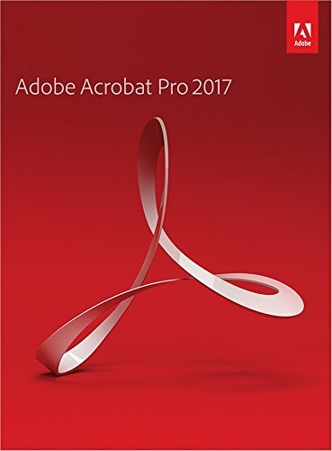 Adobe Acrobat Pro 2017 [PC Download]