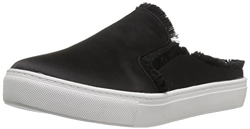 Dirty Laundry by Chinese Laundry Women's Miss Jaxon Fashion Sneaker, Black Satin, 8 M US