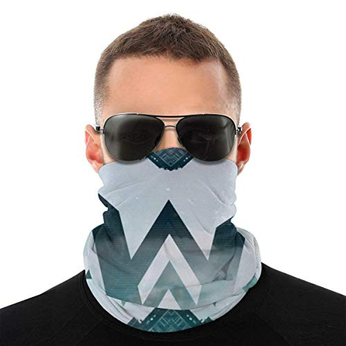 N//A Unisex Sun UV Protection Face Mask Alan Olav Walker Windproof Scarf Neck Gaiter Breathable Bandana Balaclava for Sport/&Outdoor