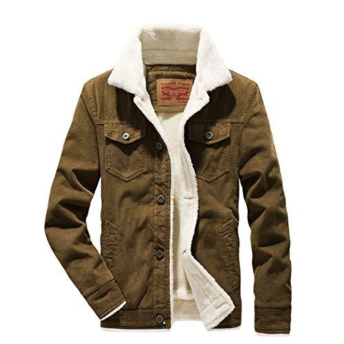 Mens Sherpa Lined Denim Jacket Lee
