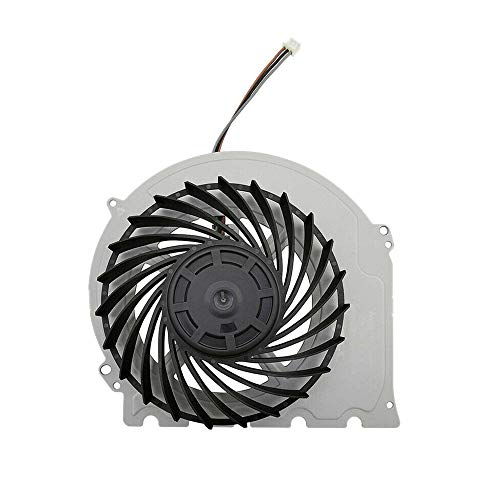 Pkommn Dispositivo de refrigeración para host de juego de metal plateado para ventilador de host de juego