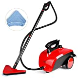 SIMBR Steam Cleaner, Multipurpose Steam Mop with 18 Accessories, 1500W 1.5L Chemical-Free Household Steamer...