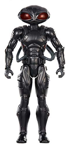 Mattel FXF93 DC Aquaman Black Manta 30 cm Figur, Spielzeug Actionfiguren ab 4 Jahren