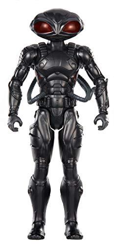 DC Aquaman Figura de accin Black Manta 30cm (Mattel FXF93)