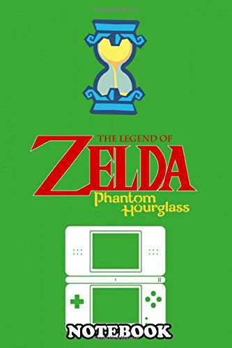"""Notebook: Minimalistic Illustration Of Legend Of Zelda Phantom Ho , Journal for Writing, College Ruled Size 6"""" x 9"""", 110 Pages"""