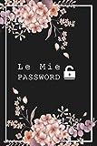 Quaderno Delle Password: diario per organizzare e conservare password, username e email siti web e social network in ordine alfabetico - Idea regalo per smemorati
