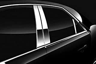QAA fits 2013-2018 Toyota Avalon 8 Piece Stainless Pillar Post Trim Includes Rear Triangle Piece PP13167