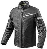 FRC010 - 0010-L - Rev It Cyclone 2 H2O Rainwear Motorcycle Over Jacket L Black