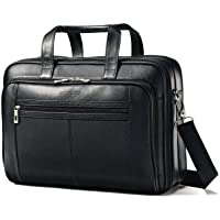Samsonite Check Point Friendly Leather Business Case (Black)