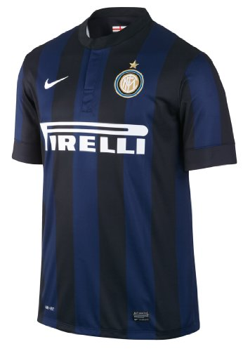 2013-14 Inter Milan Home Nike Football Shirt (Kids)