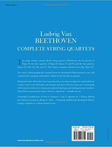 Ludwig van Beethoven Complete String Quartets