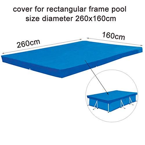 gousheng Poolschutzmatte, Solarpoolabdeckung, Einfach Zu Installierende Poolabdeckung, Pool, Bodentuch, Aufblasbare HüLse, PoolzubehöR